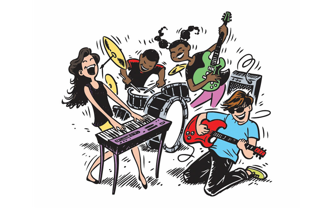 Band facilitation and Songwriting with Youthwork Ireland Meath