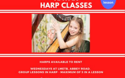 Harp Classes at Navan Music Hub